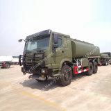 Camion de réservoir d'eau de Sinotruk HOWO 20m3 6*4