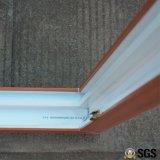 Ventana de desplazamiento colorida del perfil de la buena calidad UPVC, ventana de UPVC, ventana Kz384
