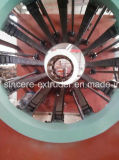 Línea del tubo del abastecimiento de agua del HDPE del PE que hace la máquina 160mm-400m m