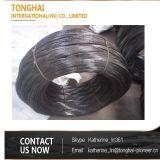 Fio recozido do ferro do laço do fornecedor de China preto macio