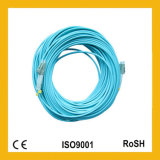 Cordons de connexion duplex de fibre optique de FTTH G657A Sc/Upc-Sc/Upc Om3 10g 50/125um 5m