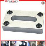 Pieza de aluminio del OEM con trabajar a máquina del CNC