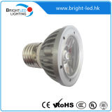 Lâmpada quente do ponto do diodo emissor de luz do anúncio publicitário 8W GU10
