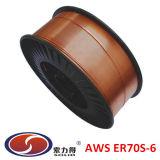 Fio de soldadura revestido de cobre Sg2 do DB Er70s-6 do TUV do CE do fio do MIG