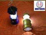 Lampe de DEL, lampes-torches extérieures campantes de secours de lampes de la lampe 3W 800lm 6LEDs Lanterna de lanterne portative