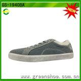 Schoenen van de Schoenen van het Canvas van de Tennisschoen van de Mens van Greenshoe de Vlakke Toevallige voor de Mens