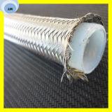 El alambre de acero inoxidable cubrió el manguito R14 del manguito de Teflon PTFE