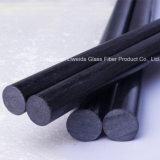 Flexibilité élevée, fibre de haute résistance de carbone Rod/barre, fibre Rod de carbone