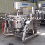 Salsa de chile Heated del gas semiautomático que cocina la caldera con el mezclador