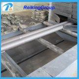 Limpieza del chorreo con granalla del tubo de acero hecha a máquina en China