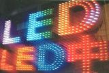 9mm/White DC5V/12V 간판을%s LED에 의하여 드러내는 편지 화소 끈 빛