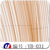 Yingcai 1mの幅の木製の穀物のハイドロペンキのフィルム