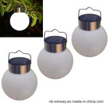 Luces solares redondas del jardín del precio bajo LED del diseño del bulbo