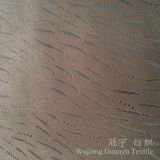 Домашней ткань замши тканья бронзированная кожей с затыловкой ватки