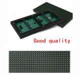 P10 singolo tabellone per le affissioni esterno della visualizzazione del modulo di verde LED