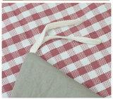 Lecho suave simple 100% del algodón fijado (T46)
