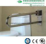 Нержавеющая сталь ванной комнаты туалета и Nylon с ограниченными возможностями вверх-Складывая штанги самосхвата