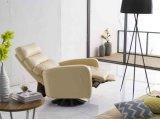 Ganascia del sofà di svago dell'Italia Leayther (736#)