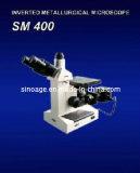 Microscópio Sm400 metalográfico invertido Trinocular