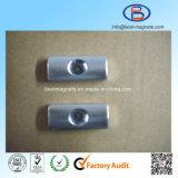 Фабрика ISO магнита неодимия формы дуги с отверстием зенковки