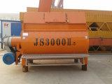 Mezclador concreto del eje gemelo, (JS3000II) mezclador concreto