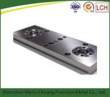 Подвергли механической обработке CNC 2016 частей металла, котор разделяет металлический лист машин стана CNC алюминиевый
