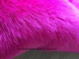 ローズの赤い北極Foxののどの毛皮