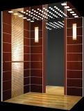 一流の国際的なデザイン技術のエリートが付いているエレベーター