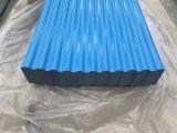 лист Galvanzied цвета 0.3mm Coated Corrugated стальной для крыши