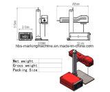 Máquina pequena da marcação do laser da fibra do tamanho 20W