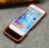 Caja de madera natural del teléfono de la alta calidad para el iPhone 5 6