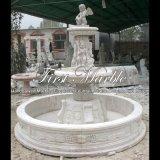 Белый фонтан травертина для подарка Mf-514
