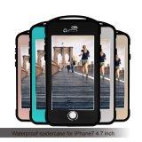 IP68 iPhone 7 (SPMC-7G)のための屋外のハイキングの防水耐震性のくもの携帯電話の箱