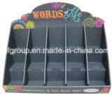 Caixa de apresentação de contador de loja de varejo Exibição de supermercado Exibição de cartão personalizado