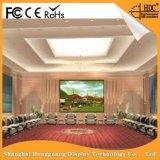 Afficheur LED d'intérieur élevé de Pantalla de mur de la solution P4 DEL