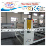 Chaîne de production de marbre d'imitation de plaque de feuille de PVC de bonne qualité