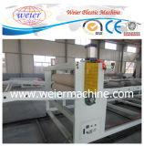 Feuille de marbre en plastique UV de PVC de pierre décorative de PVC faisant la machine