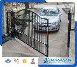 Puerta de jardín de lujo del hierro labrado