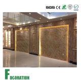панель листа доски стены PVC 1220*2440*3.0mm мраморный