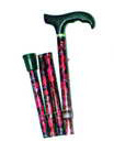 Bastón al aire libre plegable aluminio inteligente de múltiples funciones del bastón elegante