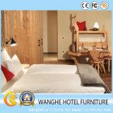 Комплект спальни мебели гостиницы просто конструкции деревянный