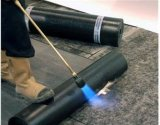 APP/Sbs verstärkte geänderte Bitumen-wasserdichte Membrane mit Aluminiumoberfläche (3.0mm/4.0mm/5.0mm Stärke)