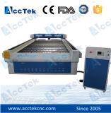 Cortador de acrílico rentable del laser de la tarjeta de la espuma de la máquina del laser del CNC de madera de metal