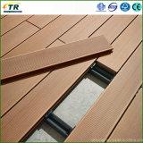 Plancher extérieur composé en plastique en bois de Decking de WPC