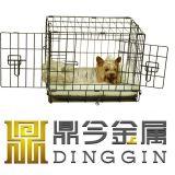 '' schwarzer 22 Maschendraht-Rahmen für Hund