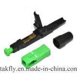 0.9/2.0/3.0mm 0.5dB kiezen de Snelle Schakelaar van de Optische Vezel Sc/APC van de Wijze uit