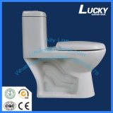 Toilette d'une seule pièce de premier d'articles de Jx-2# siphon superbe en céramique sanitaire de luxe de carte de travail avec le certificat de la CE