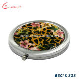 Wholesale Butterfly Aluminum Gold Compact for Mirror Sale