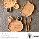Hongdao tamaño personalizado bandeja de madera sólida de servicio para el alimento al por mayor _E