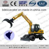 Escavatori della rotella del macchinario di Baoding piccoli con Grassping da vendere